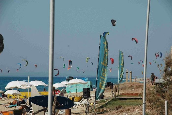 LEFKAS VOLARE kite surf