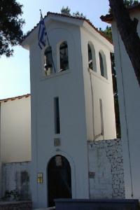 monastero faneromeni sulle alture di Lefkada