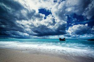 spiagge della costa occidentale dell'siola di Lefkada