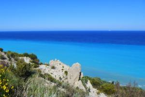 spiaggia di Milos beach a Lefkada